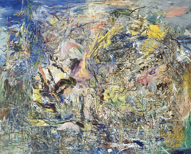 False Move, oil on canvas, 18 x 22 inches, 1980-81.