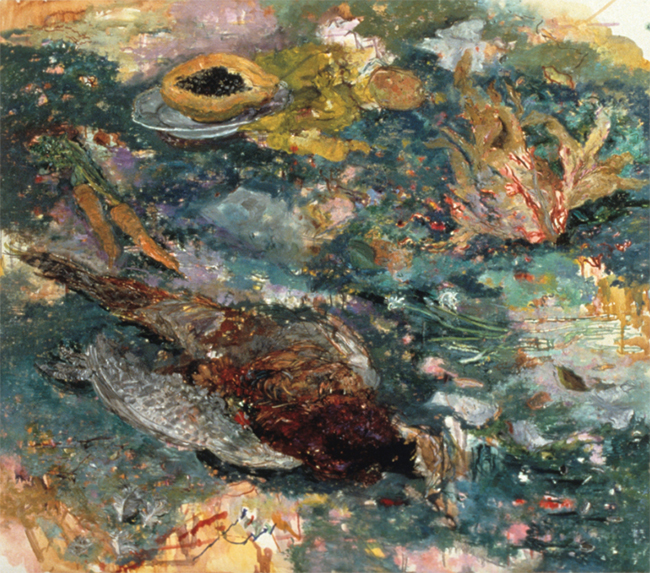 Tili, oil on canvas, 30 x 34 inches, 1984. Private Collection.