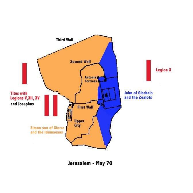 Jerusalem Siege 70 on Prayer and Praise Power Ministries