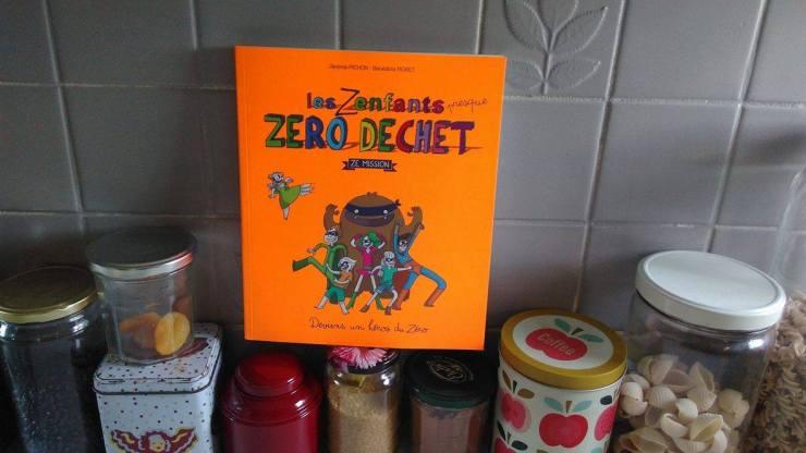 Les Znfants presque zéro déchet, livre jeunesse indispensable !