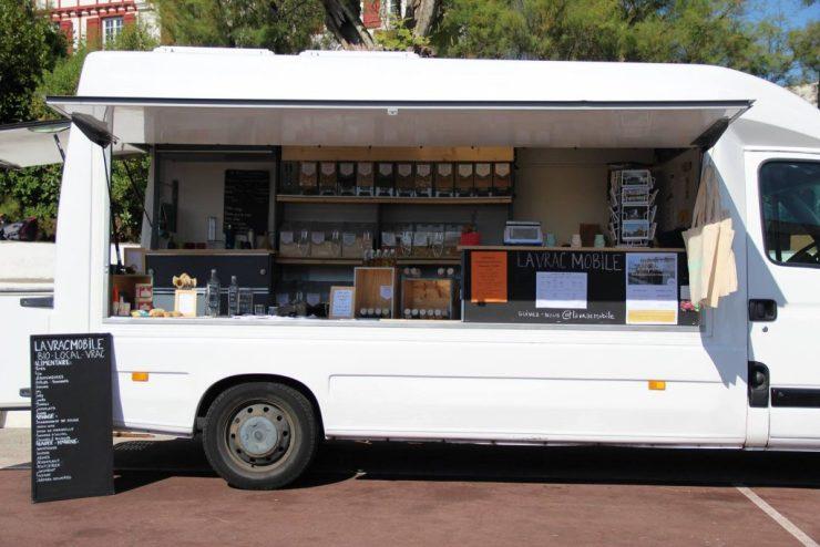 Pour atteindre le zéro déchet :la vrac mobile, épicerie ambulante de produits bio et locaux vendus en vrac