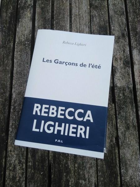 Les garçons de l'été de Rebecca Lighieri aux éditions POL : Chronique