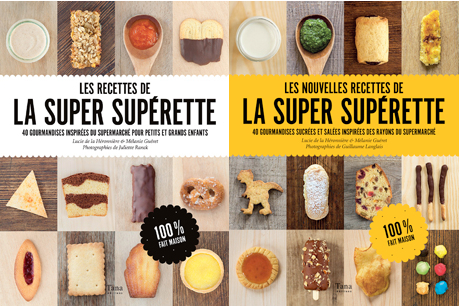livres de recettes du super blog la super superette