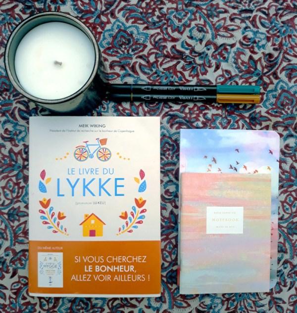 le livre du Lykke, livre feel good