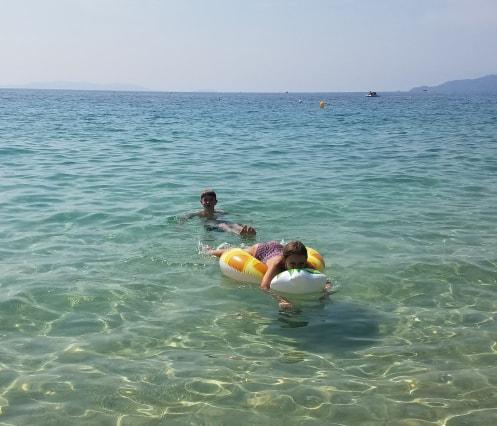 Vacances en famille au Lavandou