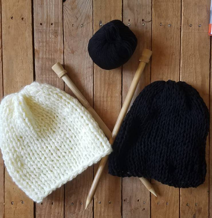 tuto tricot bonnet débutante