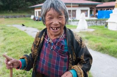 Bhutan - Tashi Yangste elder.