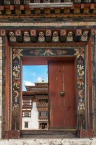 Buddhist temple in Tashigang