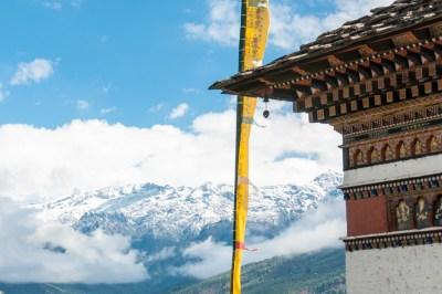 Bhutan - Mount Jomolhari