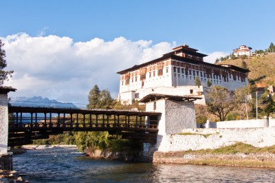 Rinpung Dzong Bridge