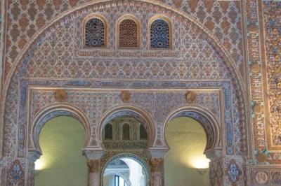 Andalusia - Seville. Alcazar.