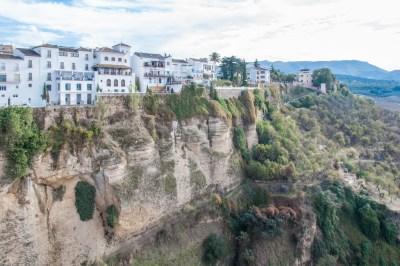 Ronda El Tajo gorge of the Guadalevin River