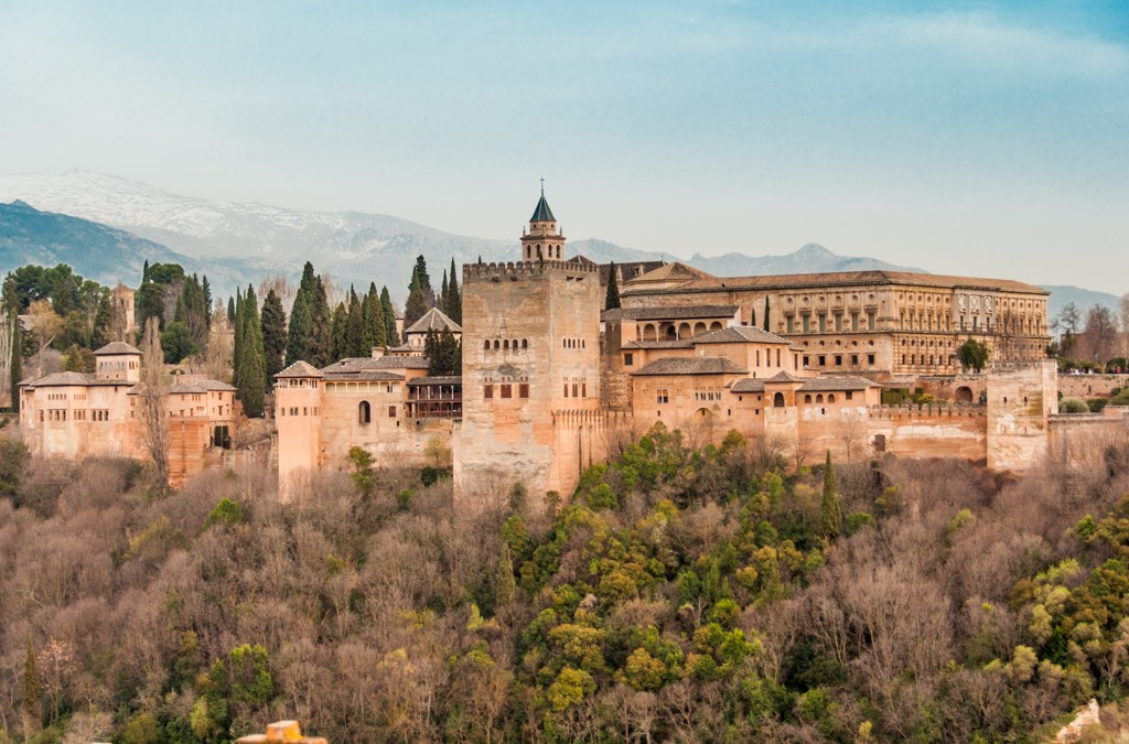 Andalusia - The Alhambra, Granada.