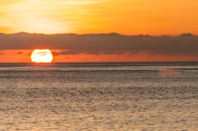 Galapagos sunset.