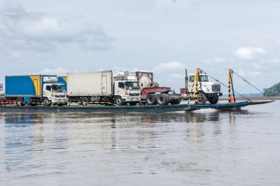 Napo River traffic.
