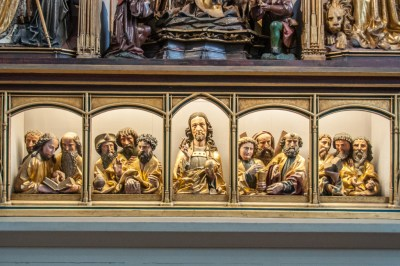 Base panel of the Isenheim Altarpiece.