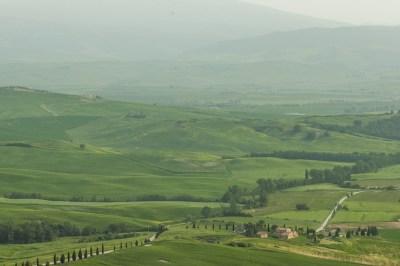 Tuscany - Val d'Orcia Vista.
