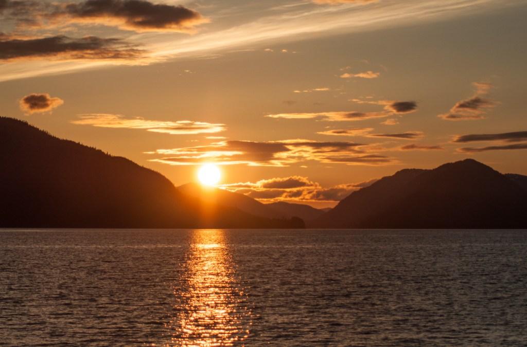 Far off the cruising lanes of Alaska