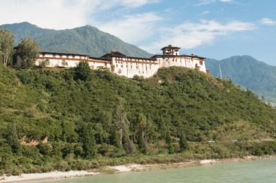 Wangdi Dzong.