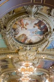 Original ceiling frescoes.