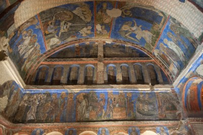 Turkey - Kaymakli church frescoes.