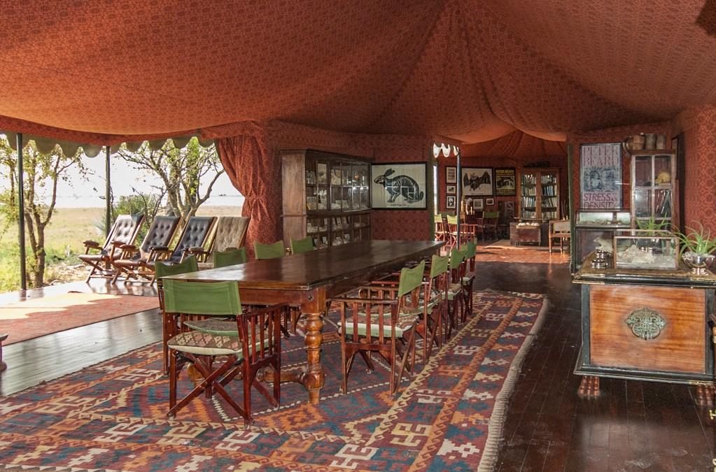 Into Botswana's Kalahari Desert