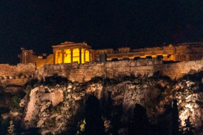 Athens - Acropolis at Night/