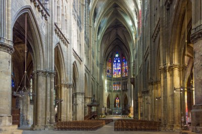 France - Metz, Cathedrale Saint Etienne