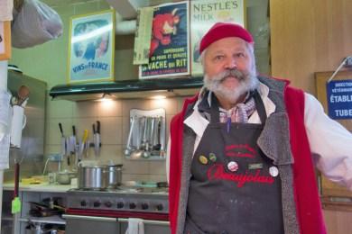 France - Metz, Soup Master Partick Grumberg