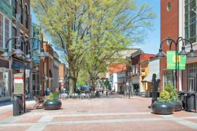 Virginia - Charlottesville Downtown Mall