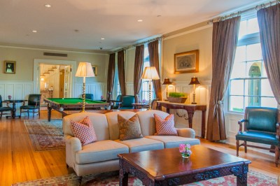 Virginia - Keswick billiard room.