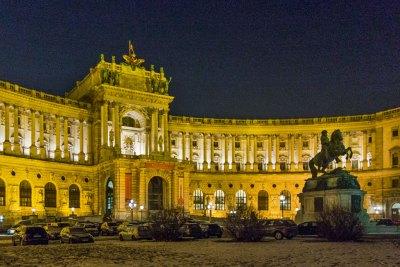 Austria - Vienna Hofburg Neue Burg.