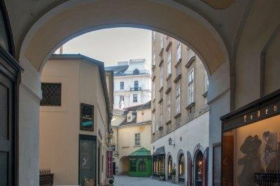 Austria - Vienna old town.