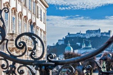 Austria - Salzburg Mirabell view.