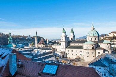 Austria - Salzburg Cathedral.