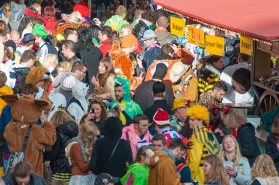 Crowds in full costumes and high spirits kick-off the Fifth Season on November 11.