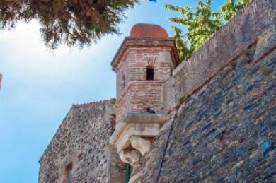 France - Collioure Castle Fortifications.
