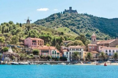 France - Collioure Foothills.