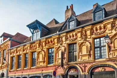 France - Lille Renaissance Architecture.