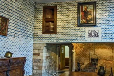 France-Llle Hospice Comtesse Kitchen.