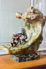 Camille Claudel, The Wave, Onyx and Bronze.