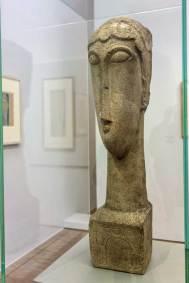 Modigliani, 1912, Woman's Head