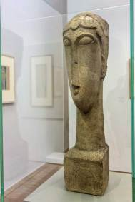 France - Lille Modigliani Sculpture.