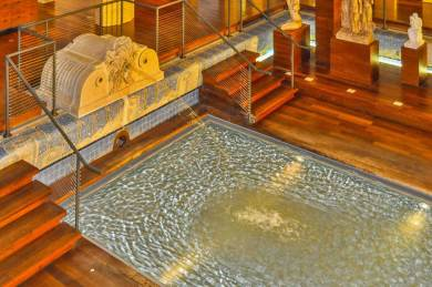 France - Roubaix Swimming Pool Museum Fountain