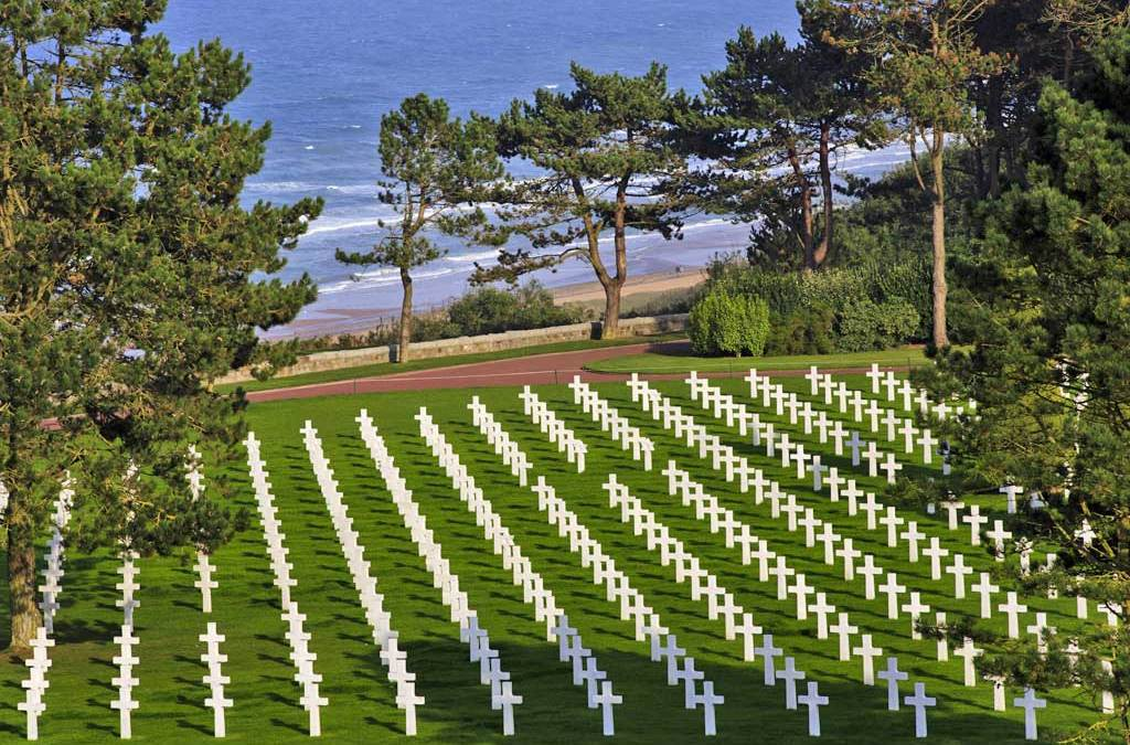 The Hallowed Beaches of Normandy