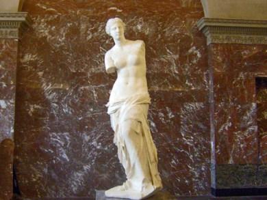 France-Paris Louvre Venus of Milo