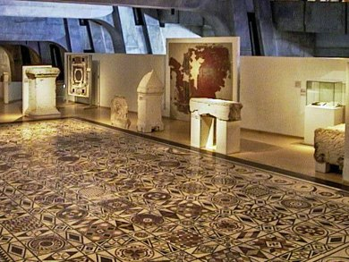 Lyon-Fourviere Gallo-Roman Mosaics.