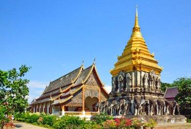 Chiang Mai - Wat Chiang Man.