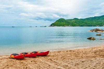 The bay of Thong Nai Pan.