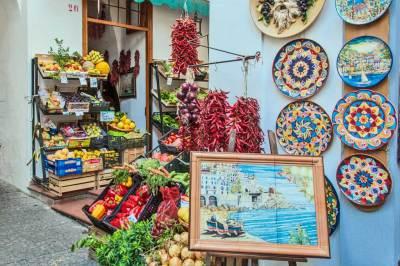 Amalfi vegetable stall